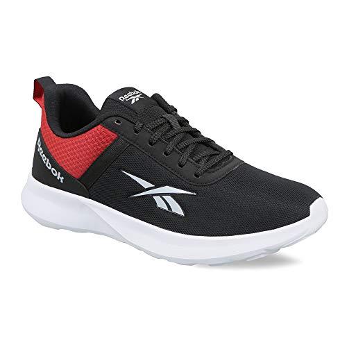 Reebok Men's EMERGO Runner Black-Rich Magma Running Shoe (EW4995_8 UK (9 US))