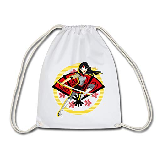 DC Super Hero Girls Katana Épée Sac à dos cordon, blanc