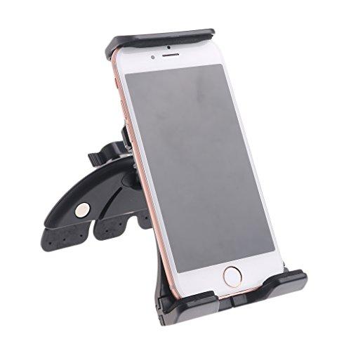 junengSO Universal Ajustable Ranura para CD para Coche Soporte de Montaje móvil para teléfono Tablet PC