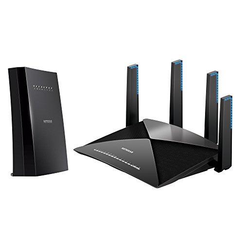 NETGEAR Nighthawk X6S Tri-Band WiFi Range Extender (EX8000) with NETGEAR Nighthawk X10 – AD7200 802.11ac/ad...