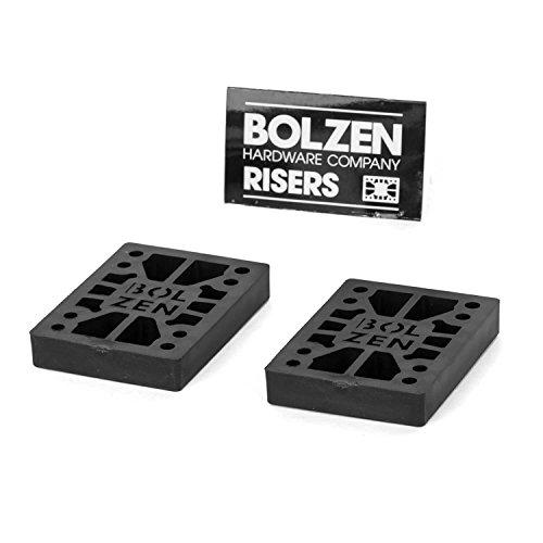 Bolzen Hard Risers 1/2 Zoll Skateboard Longboard Cruiser Riser Pads - Harte Gummi Pads