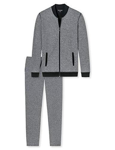 Schiesser Sleep + Lounge Hausanzug Conjuntos de Pijama, Gris (Anthrazit 203), XXXX-Large/XXXXX-Large...