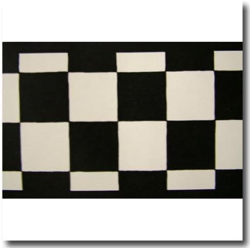 3.5 Inch Kansas City Mall Wide Black White Cars Checkered Cheap mail order shopping Check NASCAR Wallpape