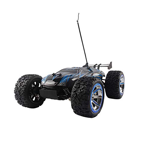 Poooc Coche de control remoto actualizado,  1:12 escala RC Trucks 4WD Electric Off Road Juguete 25km / h Vehículo de escalada de alta velocidad Bigfoot USB Carga de alta potencia Buggy for Kids Indoor