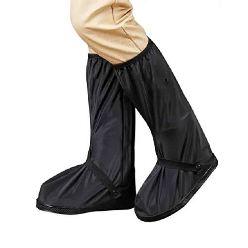 QHYY Oxford Cloth High Boots waterdichte anti-fouling regenlaarzen voor bergbeklimmers
