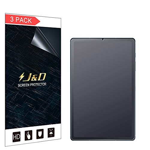 JundD Kompatibel für Samsung Galaxy Tab S6 Lite Schutzfolie, 3-Pack [Antireflektierend] [Nicht Ganze Deckung] [Anti Fingerabdruck] Matte Folie Bildschirmschutzfolie für Galaxy Tab S6 Lite Bildschirmschutz