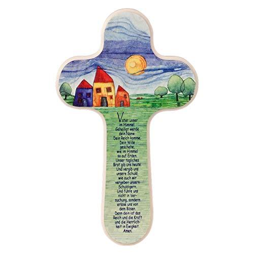 MaMeMi Kreuz für Kinder Kinderkreuz Vater Unser