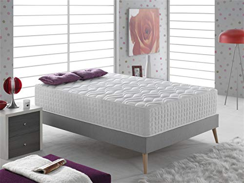 Bellavista Home Mattress Palma 12' in.Thickness Memory Foam & Latex Single 3FTx6´3´´ FT.Single (90x190x30cm.) Hotel Comfort, Reduce back pain, Firm, Orthopaedic, High-End.