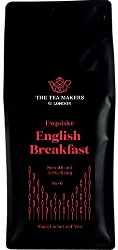 The Tea Makers of London Englischer Frühstückstee Ceylon Tee 250g ganze Teeblätter von prämiertem Tee Onlineshop