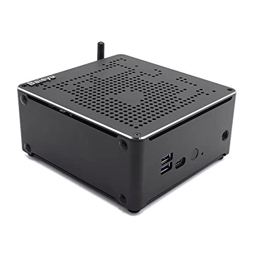 Baieyu Desktop PC Intel i7-9850H, 32GB RAM, 512GB SSD, 1TB HDD, Intel UHD Graphics 630, Mini Computadora para Juegos Windows 10 Pro,WiFi/Bluetooth 4.2/HD/DP/4K