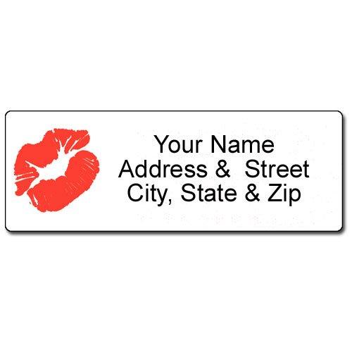 Kiss Address Label - Customized Return Address Label - 90 Labels