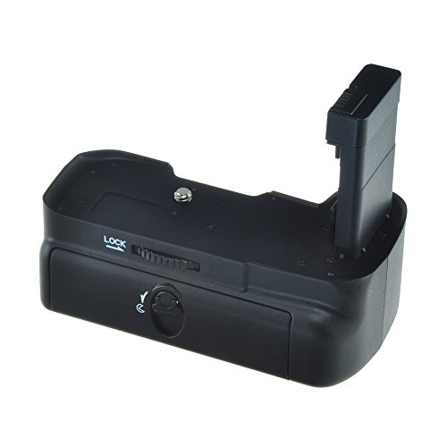 Jupio JBG-N003 Grip Batteria per Nikon D3100/D3200, Nero/Antracite