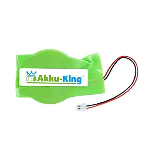 Akku-King Backup, CMOS Knopfzelle mit Stecker für Samsung Chromebook XE500C21, XE500C21-H02US, XE500T, XE500T1C, XE500T1C-A02US, XE500T1C-HA1US - Li-Ion 50mAh
