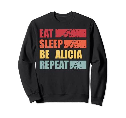 ALICIA - Camisa con nombre personalizado ALICIA Sudadera