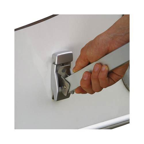 Fiamma WALL BRACKETS - wandhouders aluminium - zilver