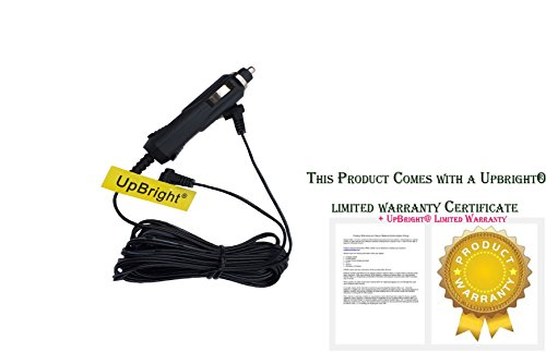 """UpBright New Car 2 Two Output Adapter for RCA DRC6272E22 7"""" Twin Mobile Portable DVD Players Auto Vehicle Boat RV Camper Cigarette Lighter Plug Power Supply Cord Cable Charger PSU"""