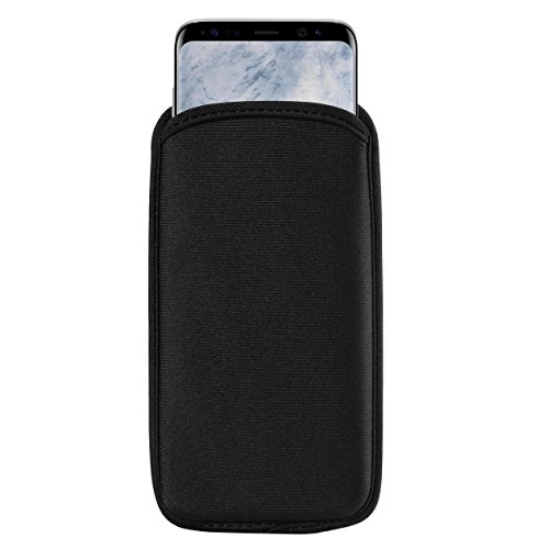 BXQ Neoprene Cell Phone Protective Sleeve for Samsung Galaxy S10+ S9+ S8+ / A8+ / J8 / Huawei P30 Pro/Mate 20 / OnePlus 6T / LG V50 ThinQ/Stylo 4 / Motorola G7 Plus/Nokia 7 Plus/Sony Xperia XZ3