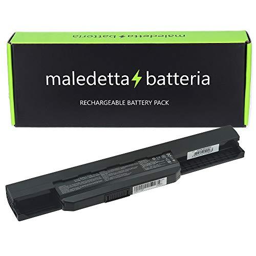 Batteria MaledettaBatteria 6 celle 5200mAh di alta qualità per ASUS K53 K53E X54C X53S X53 K53S X53E, 10,8-11,1 V A32-K53 A41-K53 A42-K53