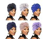 Best Turbans - 4Pack/6Packs Women Turban African Pattern Knot Headwrap Beanie Review