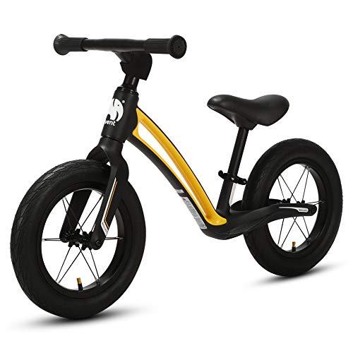 elvent BalanceGo Kinder Sport Laufrad Lernlaufrad 12 Zoll für Asphalt Gelände, für Mädchen Jungen ab 1 Jahren,...