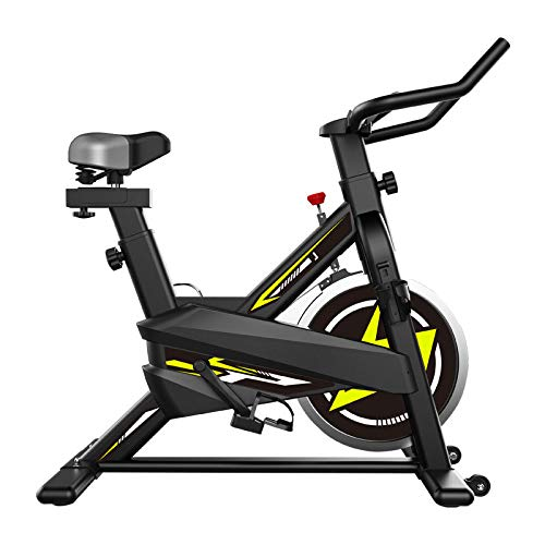 Hometrainer, Aerobic Indoor Training Exercise Bike met Triangle solide APP intelligent aansluiting en 3D competitief spel PK