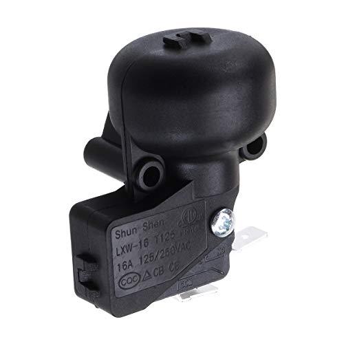 WCHAOEN Universal AC 250V 50HZ Anti-Dump-Schalter für Outdoor-Garten-Heizpilz Schwarz Ersatzteile