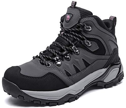 Camel CRWON Hiking Shoes Women's Trekking Boots Lightweight Low Top Work Safety Shoes Slip On Trainers for Climbing Hiking Trekking Tennis