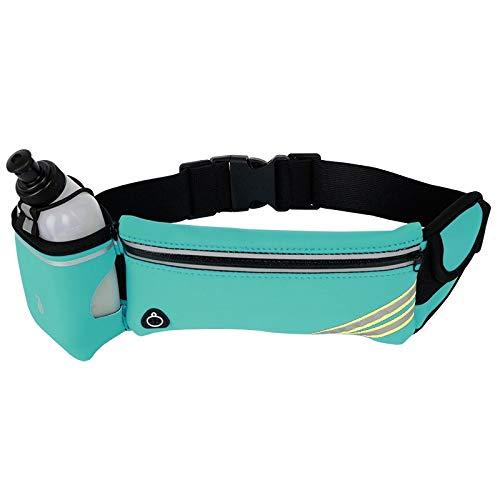 NKns Outdoor Fitness Einzelkessel Sporttaschen Persönliche Flaschentaschen Sporttaschen Blauer Farbcode (Mit Wasserkocher) Feuerwehr Rucksack