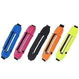 Tutoy Running Sport Anti Theft Waist Bag Unisex Caja Liviana para El Teléfono Multifunction Cinturon - Purple