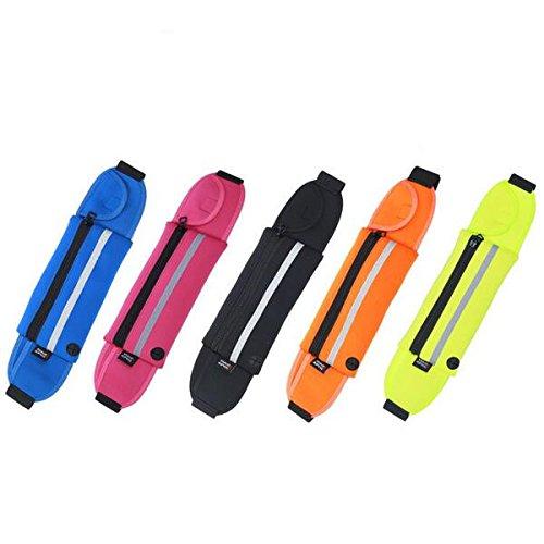 Tutoy Running Sport Anti-Diebstahl-Taille Tasche Unisex Leichtgewicht Handy Case Multifunktions-Taillengürtel-Lila