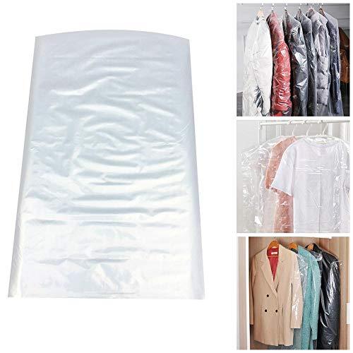 Uphsang 50 STÜCKE 2.2 draht transparent staubschutz Reiniger staubbeutel Kunststoff hängen Tasche Kleiderständer
