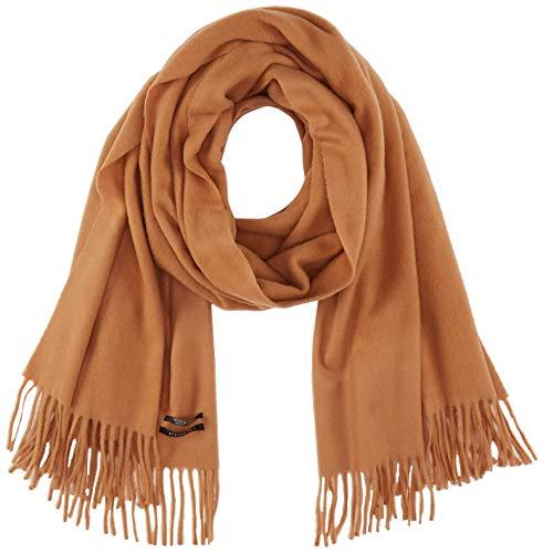 Scotch & Soda Maison Damen Classic Wool Scarf Schal, Beige (Camel 68), One Size (Herstellergröße: OS)