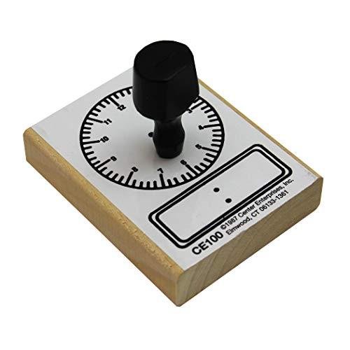 READY 2 LEARN - CE-100 - Sello de madera para tarjetas de trabajo, hojas de trabajo, invitaciones, álbumes y álbumes de recortes (CE100)