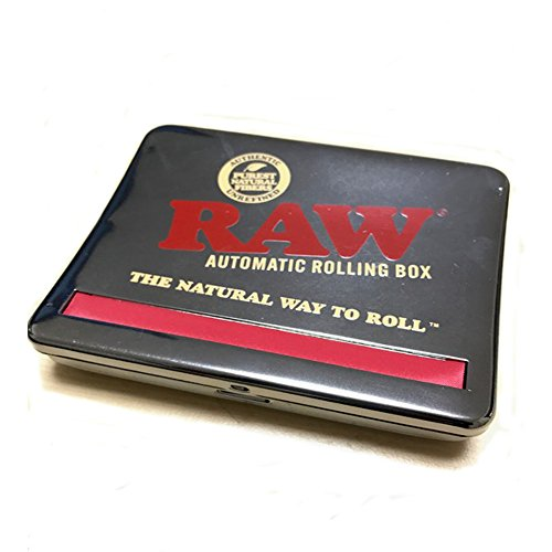 RAW Automatic Rolling Box 110-Fits King Size, Metall, Silber, S