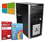Multimedia Tower PC | Intel Core i5-3470@ 3,2GHz | 8GB | 2000GB HDD | DVD-Brenner | Windows 10 Pro | BullGuard | SoftMaker Office (Generalüberholt)