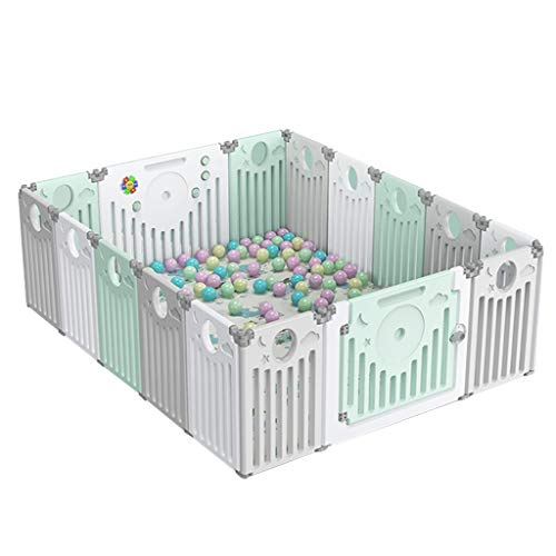 Best Prices! LDAOS Safety Protection Eco-Friendly Material Baby Toddler Playpen, Home Changeable GG-...