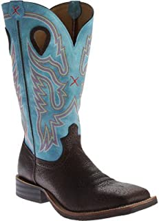 e096831ffe9 Amazon.com: Blue - Western / Boots: Clothing, Shoes & Jewelry