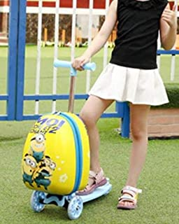 Misha Kids Scooter Luggage (yellow)
