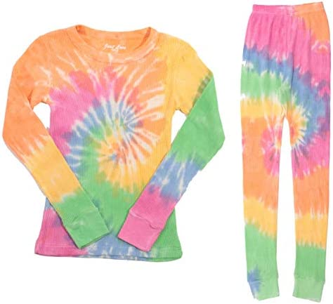 Just Love Girls Tie Dye Two Piece Thermal Underwear Set 95461 10363 10 12 product image