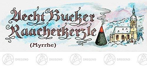 Bucker Räucherkerzen Myrrhe 24 Kerzen NEU Erzgebirge Rauchfigur Rauchmann Räuchermännel