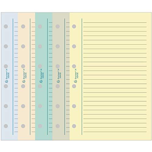 Exacompta 28218E Recharge Pochettes de 4 Porte-Carte Set 1 Pochette avec ZIP pour Organiseur Exatime 21 Transparent