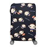 Custodia protettiva elastica per bagagli per valigia trolley da 19-32 pollici Proteggi custodia per sacchetto di polvere Accessori da viaggio per cartoni animati per bambini-4_M