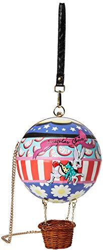 Irregular Choice Anniversary Bag, Sac porté main femme, Rose (Pink Multi), 10x46x10 cm (W x H L)