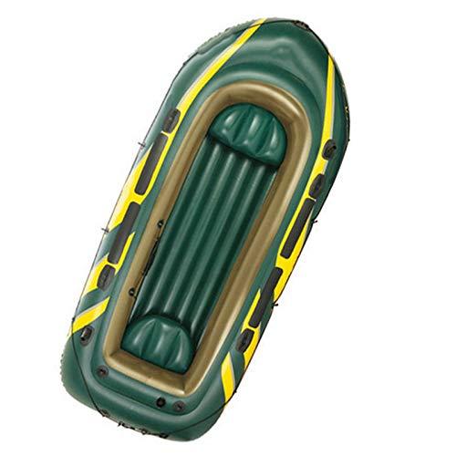 BAHAOMI Kayak Hinchable,Botes Inflables para 4 Personas,Canoas De Mar,Portátil En Bote Plegable...
