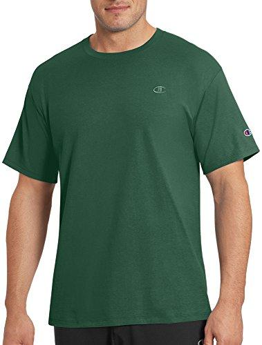 Champion Men's Classic Jersey T-Shirt, Dark Green, L