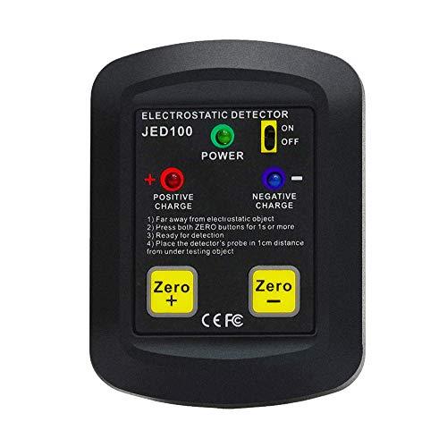 KKmoon Statischer Tester Elektrostatischer Detektor in Palmengröße Tragbarer elektrostatischer Tester Elektrostatischer Analysator 100V ~ 20KV ESD-Testmessgerät