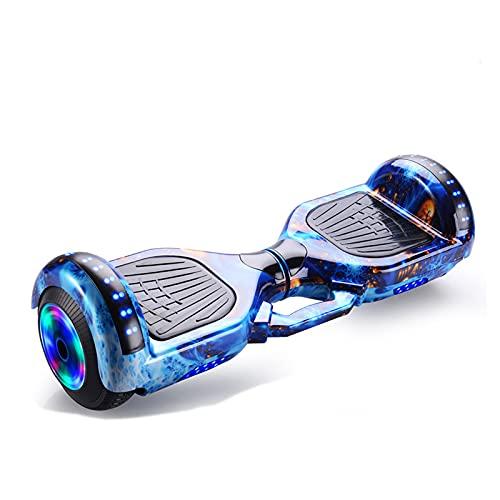 Gmjay Patinete Eléctrico Autoequilibrado de Dos Ruedas Hoverboard con Bluetooth y Luces...
