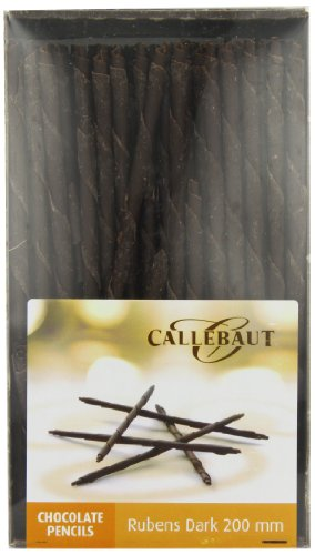 Callebaut Rubens - Cigarrillos de Chocolate Negro (200mm) 900g