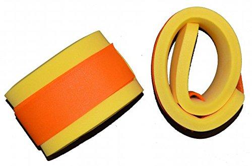Schwimmbänder Armschwimmer Beinschwimmer 300x80x38mm Starker Auftrieb NEU&Original (Gelb) Klettbänder Klettverschluss farblich sortiert