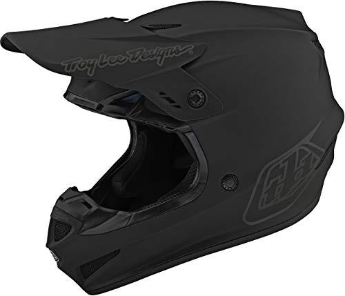 Troy Lee Designs 2021 GP Helmet - Mono (Large) (Black)